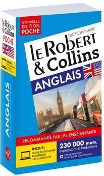 LE ROBERT et COLLINS  -  POCHE  -  ANGLAIS