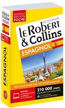 LE ROBERT et COLLINS  -  POCHE  -  DICTIONNAIRE ESPAGNOL