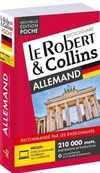 LE ROBERT et COLLINS  -  POCHE  -  DICTIONNAIRE ALLEMAND