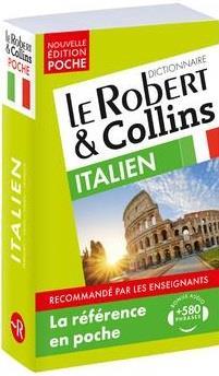 LE ROBERT et COLLINS  -  POCHE  -  DICTIONNAIRE  -  ITALIEN