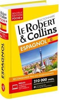 DICTIONNAIRE LE ROBERT et COLLINS POCHE + ESPAGNOL COLLECTIF LE ROBERT