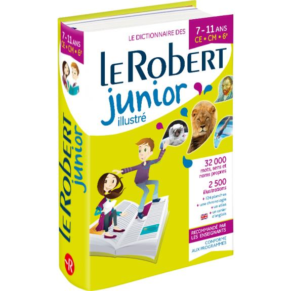 DICTIONNAIRE LE ROBERT JUNIOR ILLUSTRE  -  711 ANS