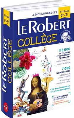 DICTIONNAIRE LE ROBERT COLLEGE  -  1115 ANS  COLLECTIF LE ROBERT
