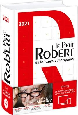 DICTIONNAIRE LE PETIT ROBERT DE LA LANGUE FRANCAISE BIMEDIA (EDITION 2021)