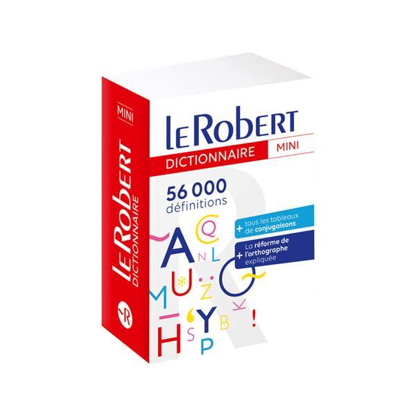 LE ROBERT et COLLINS  -  MINI  -  DICTIONNAIRE LANGUE FRANCAISE