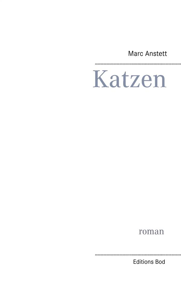 KATZEN ANSTETT M BOOKS ON DEMAND