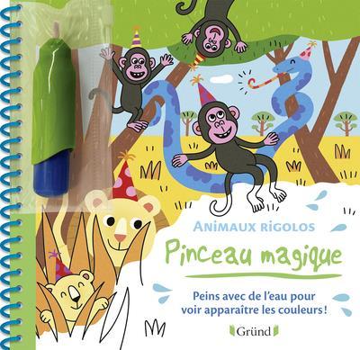 PINCEAU MAGIQUE  -  ANIMAUX RIGOLOS ALLIROL MELUSINE GRUND