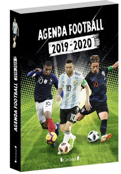 AGENDA FOOTBALL 2019-2020 COLLECTIF Lgdj