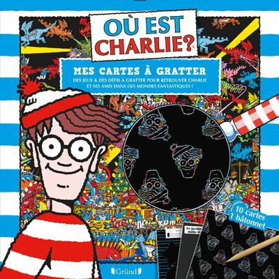 OU EST CHARLIE - CARTES A GRATTER - DANS DES MONDES FANTASTIQUES HANDFORD MARTIN Lgdj