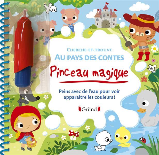 PINCEAU MAGIQUE  -  AU PAYS DES CONTES
