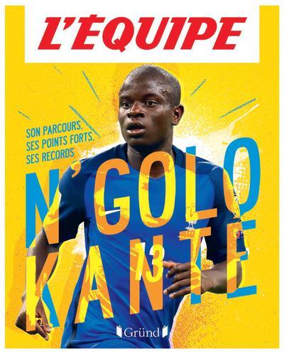 L'EQUIPE  -  N'GOLO KANTE  L'EQUIPE GRUND
