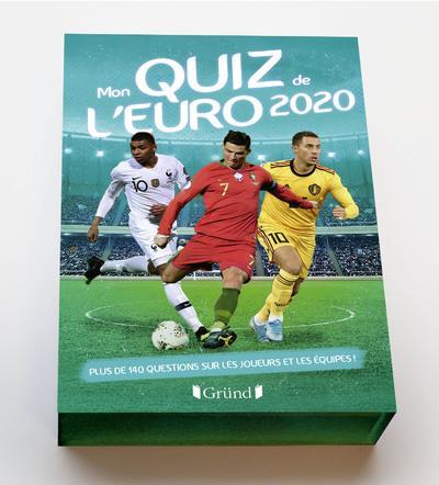 MON QUIZ DE L'EURO (202E EDITION) GRALL MICKAEL NC