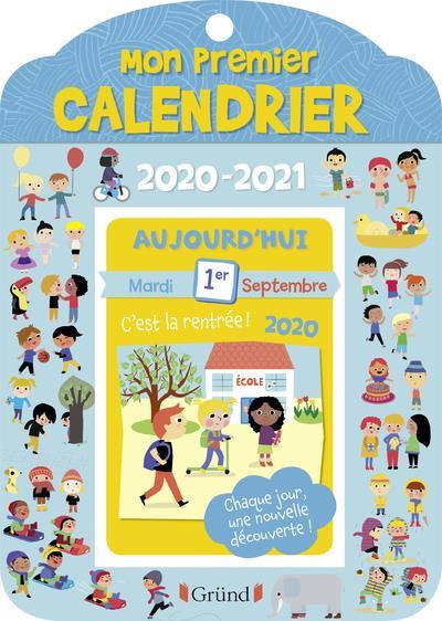 MON PREMIER CALENDRIER (EDITION 20202021)
