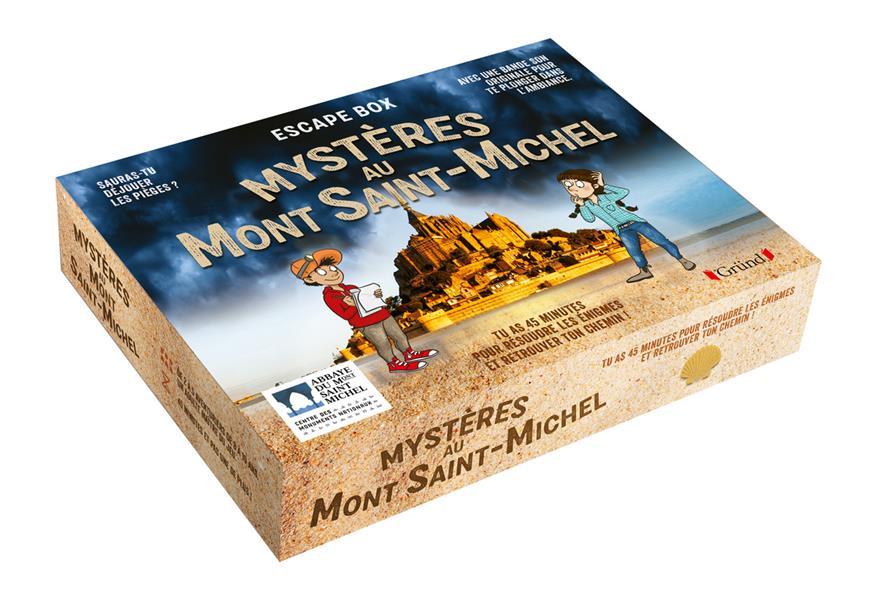 ESCAPE BOX  -  MYSTERES AU MONT SAINT-MICHEL