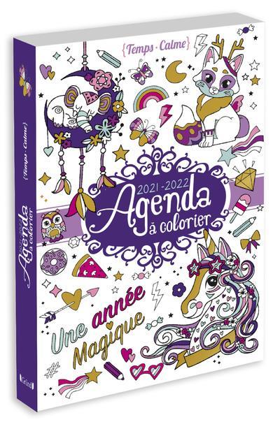 AGENDA A COLORIER (EDITION 20212022) VARONE EUGENIE NC