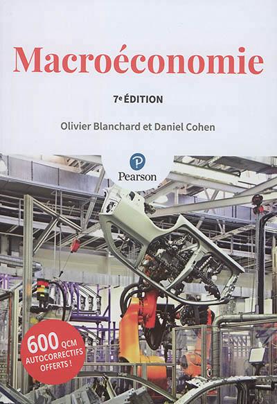 MACROECONOMIE 7E ED + QCM