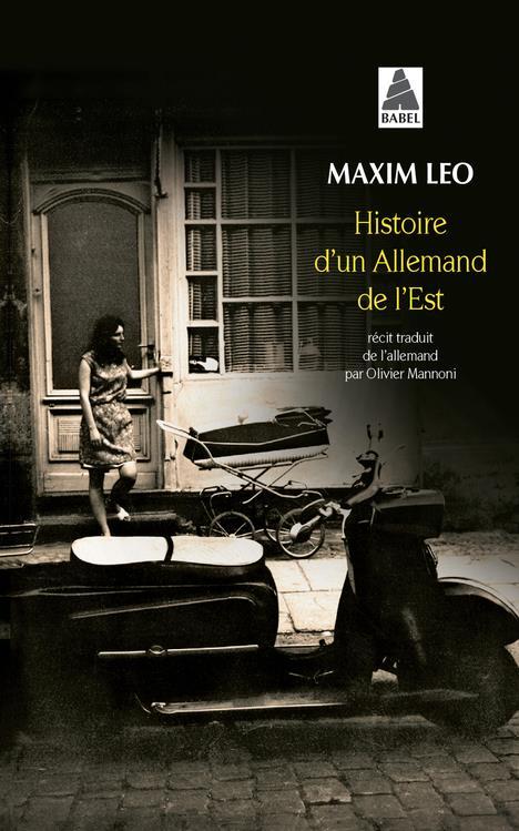 HISTOIRE D-UN ALLEMAND DE L-ES LEO MAXIM / MANNONI ACTES SUD