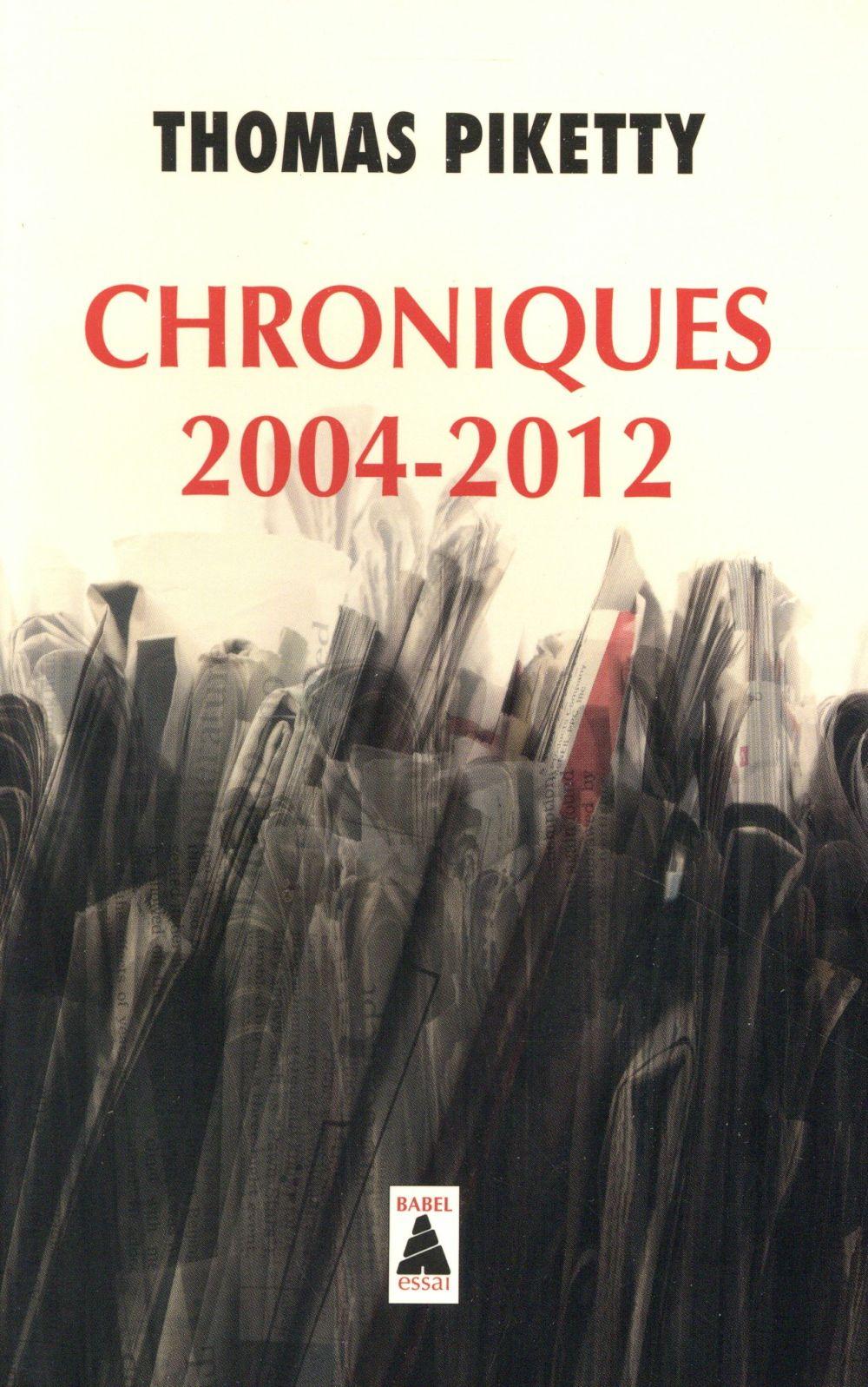 CHRONIQUES 2004-2012  (BABEL 1342)