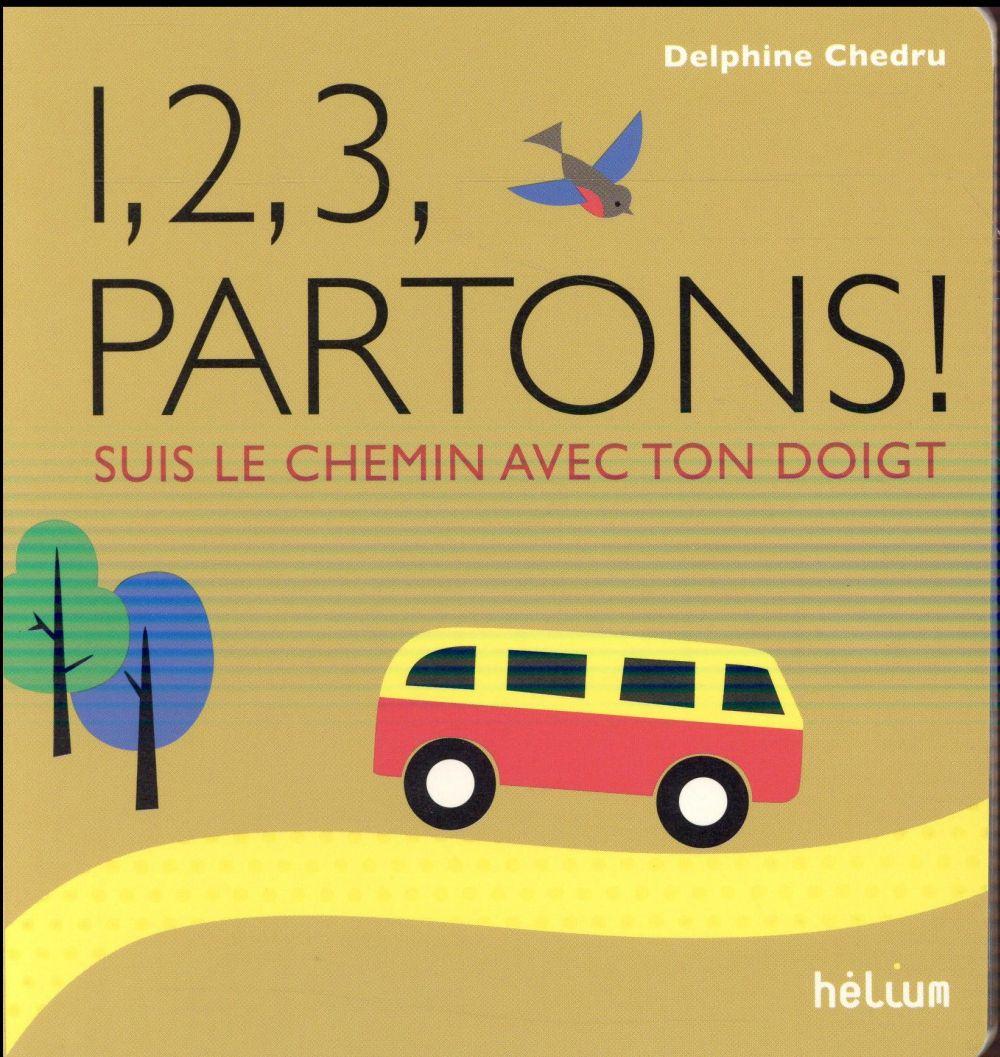 1, 2, 3, PARTONS ! - SUIS LE CHEMIN AVEC TON DOIGT
