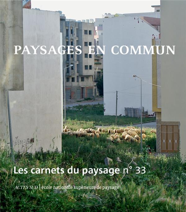 LES CARNETS DU PAYSAGE N.33  -  PAYSAGES EN COMMUN