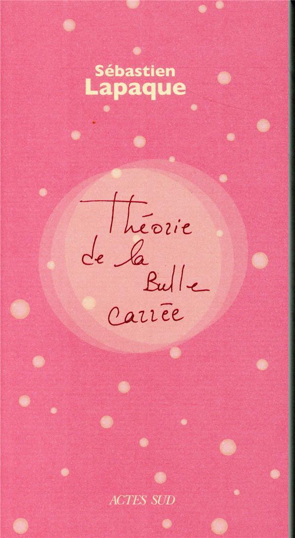 THEORIE DE LA BULLE CARREE
