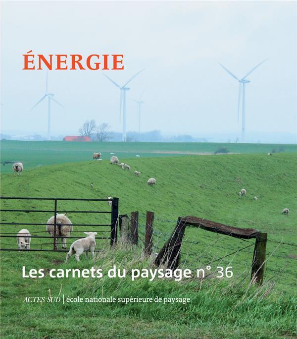 LES CARNETS DU PAYSAGE N  36 - ENERGIE