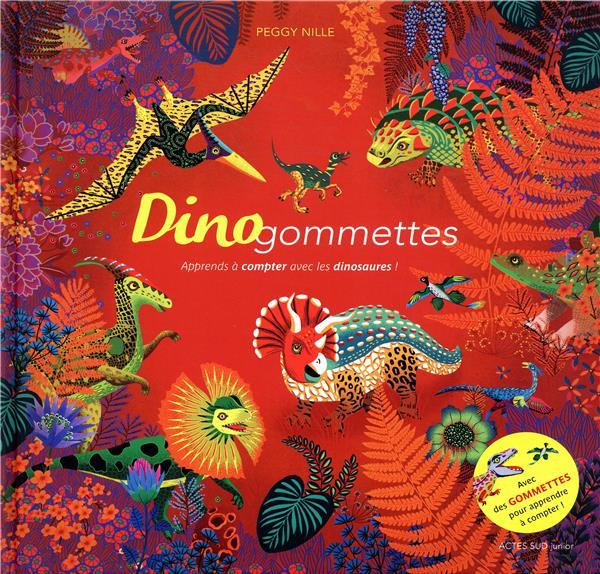 DINOGOMMETTES - APPRENDS A COMPTER AVEC LES DINOSAURES !