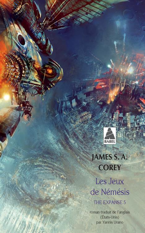 THE EXPANSE T.5  -  LES JEUX DE NEMESIS