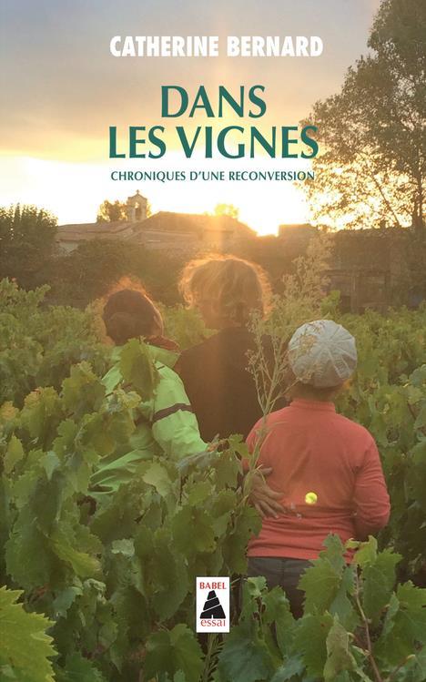 DANS LES VIGNES (BABEL) - CHRONIQUES D-UNE RECONVERSION BERNARD CATHERINE ACTES SUD