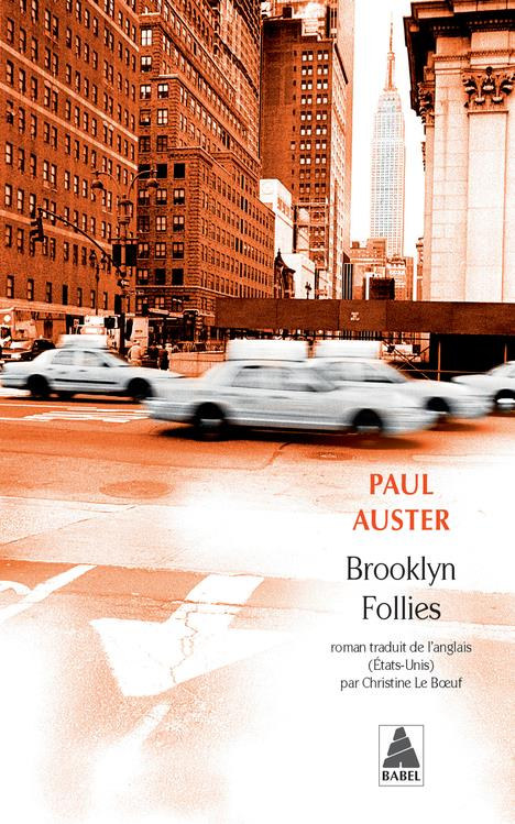BROOKLYN FOLLIES AUSTER, PAUL ACTES SUD