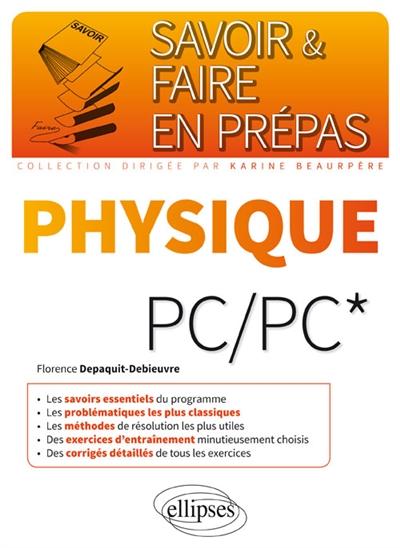 Depaquit-Debieuvre Florence - PHYSIQUE PCPC*