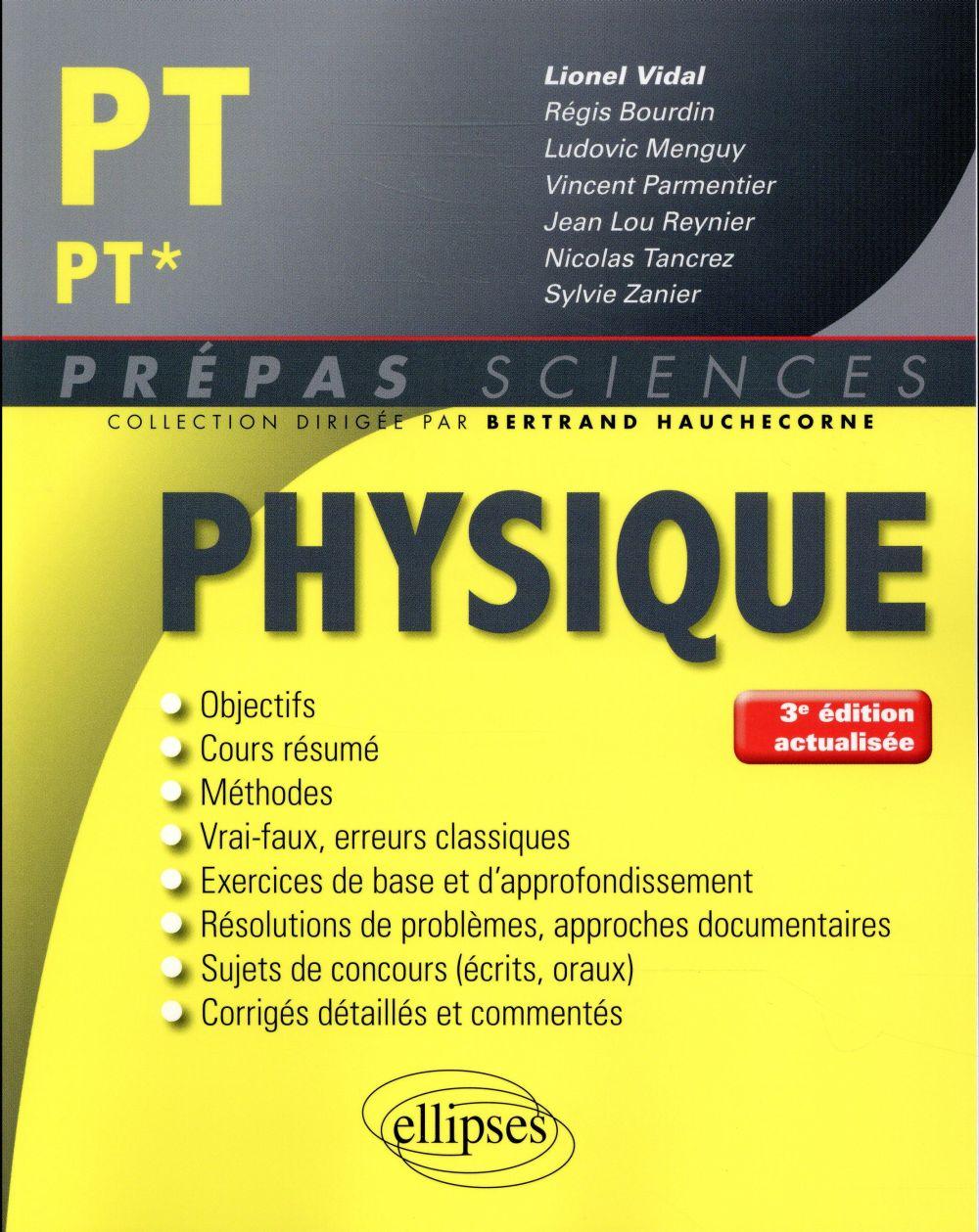 - PHYSIQUE PTPT* - 3E EDITION ACTUALISEE
