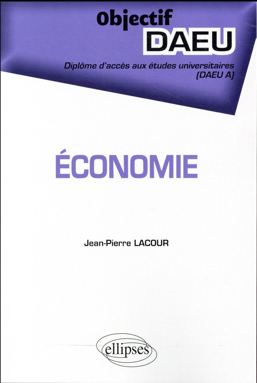 Economie DAEU A