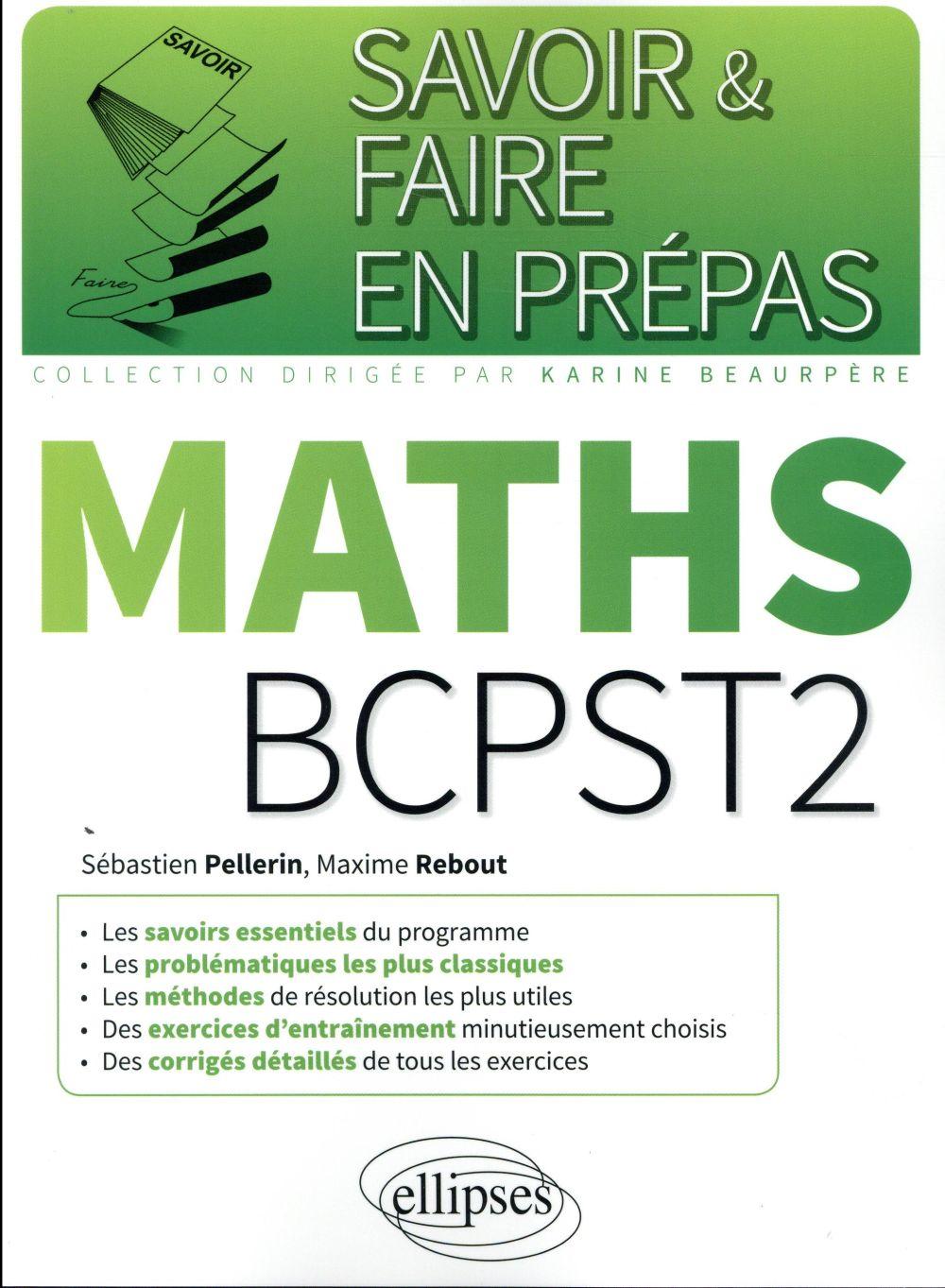MATHEMATIQUES BCPST 2