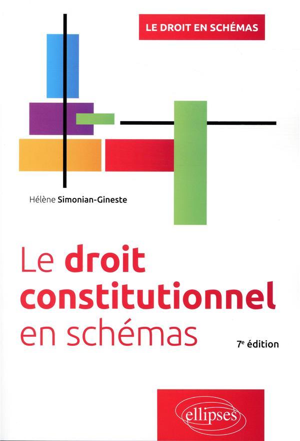 LE DROIT CONSTITUTIONNEL EN SCHEMAS (7E EDITION)