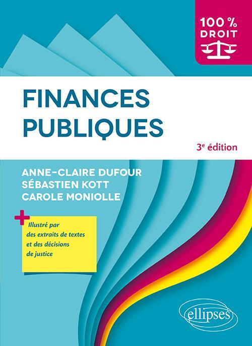 FINANCES PUBLIQUES (3E EDITION)