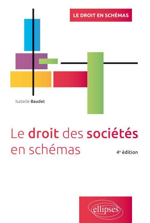 LE DROIT DES SOCIETES EN SCHEMAS (EDITION 2020)