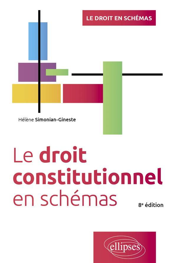 LE DROIT CONSTITUTIONNEL EN SCHEMAS (8E EDITION) SIMONIAN-GINESTE, HELENE ELLIPSES MARKET