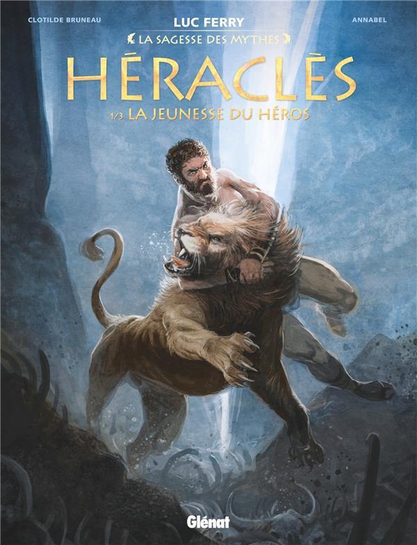 HERACLES T.1  -  LA JEUNESSE DU HEROS BRUNEAU CLOTILDE Glénat