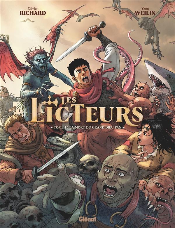 LES LICTEURS T.1  -  LA MORT DU GRAND DIEU PAN