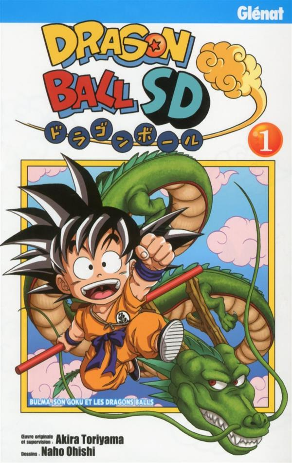DRAGON BALL SD - TOME 01 Ohishi Naho Glénat