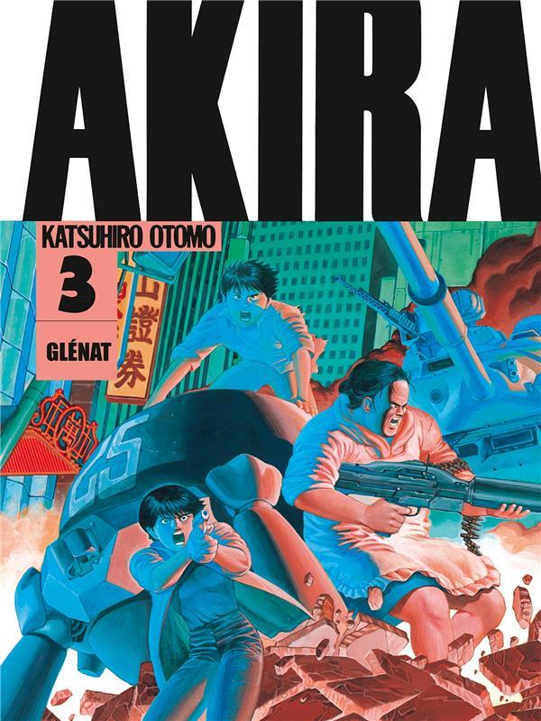 AKIRA T.3 OTOMO KATSUHIRO Glénat