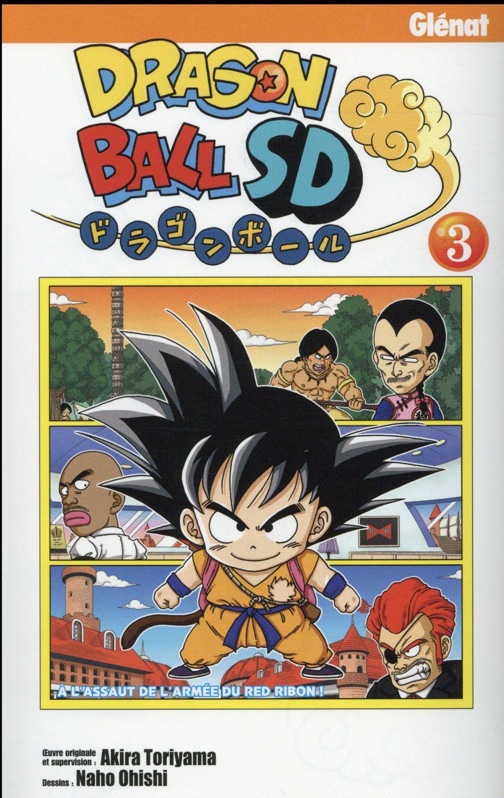 DRAGON BALL SD - TOME 03 Toriyama Akira Glénat