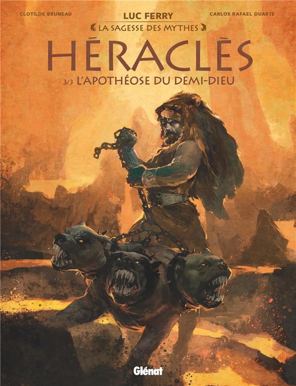 HERACLES T.3  -  L'APOTHEOSE DU DEMI-DIEU BRUNEAU/DUARTE GLENAT