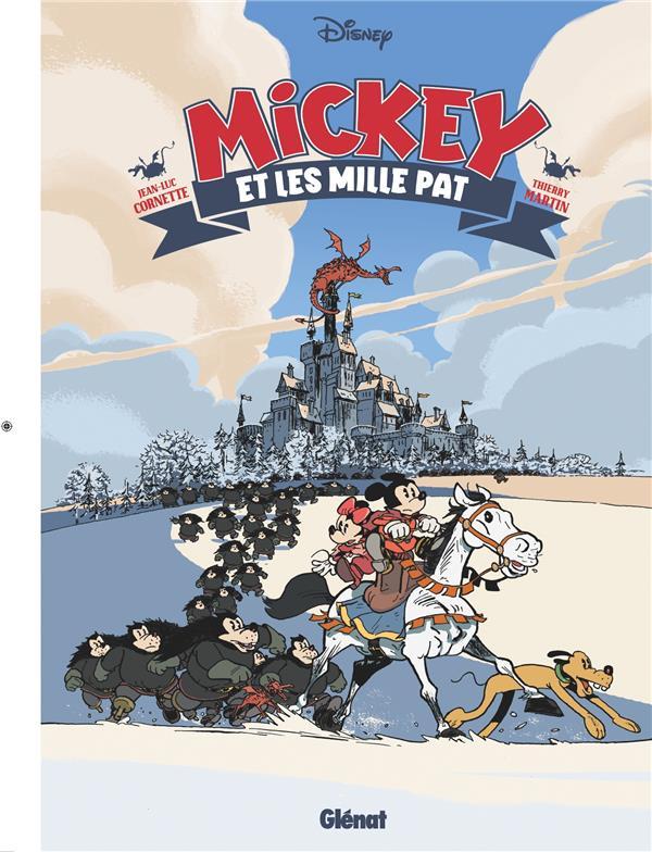 MICKEY ET LES MILLE PAT CORNETTE/MARTIN GLENAT