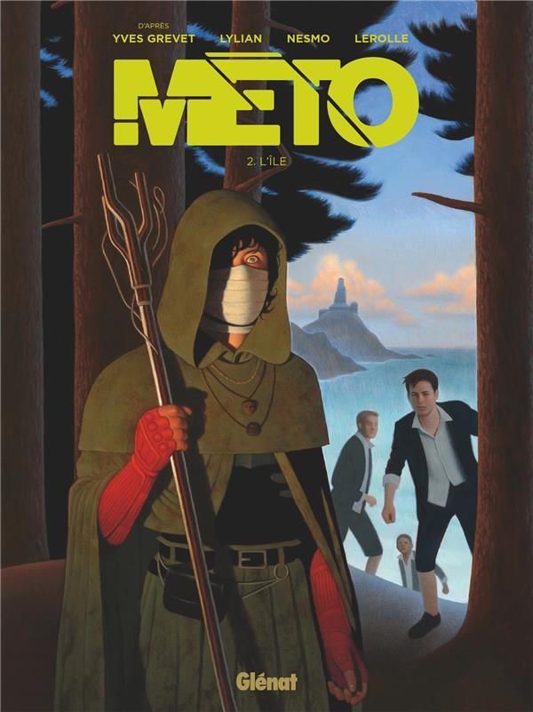 METO - TOME 02 - L'ILE GREVET/LYLIAN/NESMO GLENAT