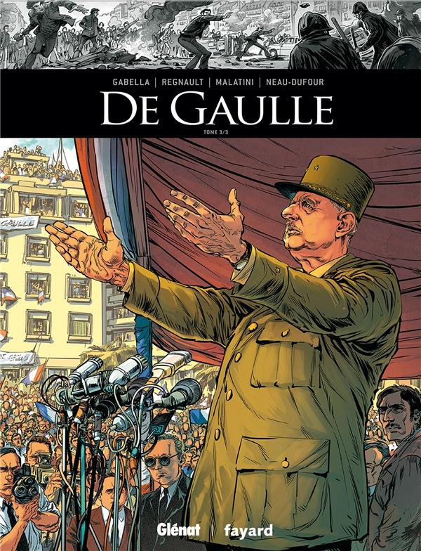 DE GAULLE T.3 GABELLA/REGNAULT GLENAT