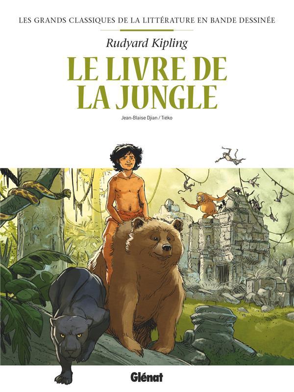 LE LIVRE DE LA JUNGLE EN BD DJIAN/TIEKO GLENAT
