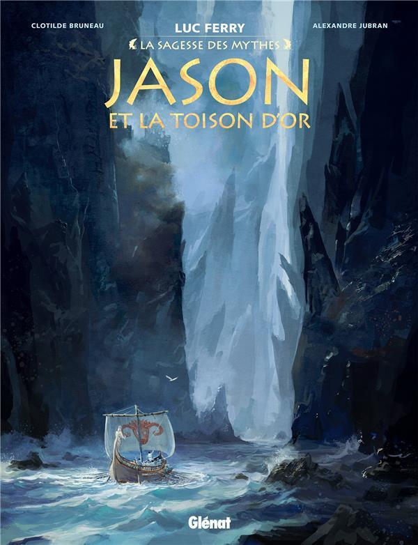 JASON ET LA TOISON D'OR  -  COFFRET T.1 A T.3 BRUNEAU/JUBRAN GLENAT