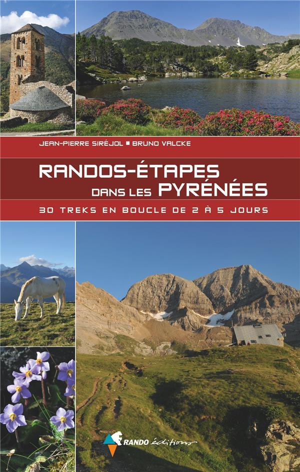RANDOS-ETAPES DANS LES PYRENEE SIREJOL JEAN-PIERRE GLENAT